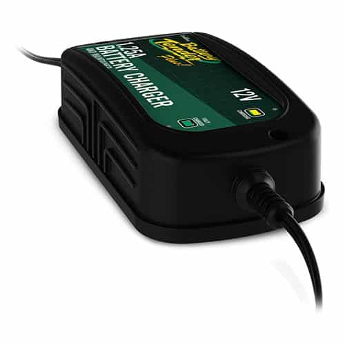 Battery Tender 12V, 1.25A High-Efficiency Battery Charger