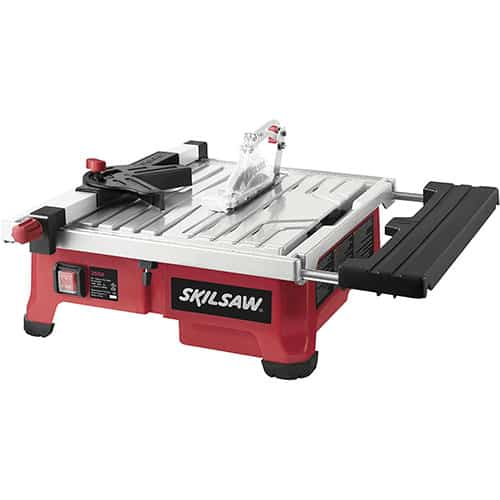 SKIL WET TILESAW WITH WATER CONTAINMENT SYSTEM