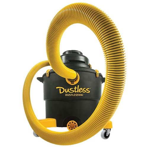 Dustless Technologies D 1603 Dustless Wet Dry Vacuum, 16 gal, Blacks