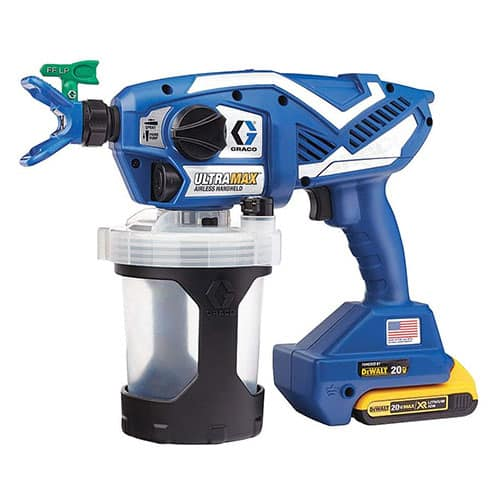 Graco's 17M367 Ultra Max Cordless Airless Handheld Paint Sprayer
