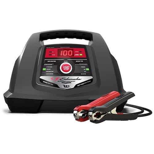 Schumacher SC1281 6/12V Fully Automatic Battery Charger and 30/100A Engine Starter
