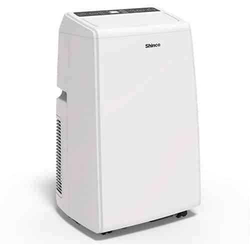 Shinco SPS5 8,000 BTU Portable Air Conditioner, 3-in-1 Floor AC Unit with Built-in Dehumidifier, Fan Mode & LED Display, Comes with Remote Control