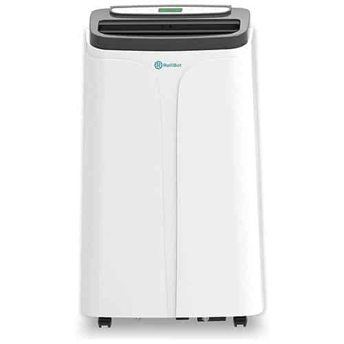 RolliCool Alexa-Enabled Portable Air Conditioner 14,000 BTU AC Unit with Heater, Dehumidifier, Fan - Incldues Mobile App (COOL100H-19)