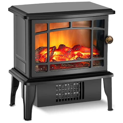 Fireplace Heater Electric Fireplace Heater with 3s Fast Heating System