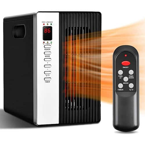 Room Heater with Remote Control