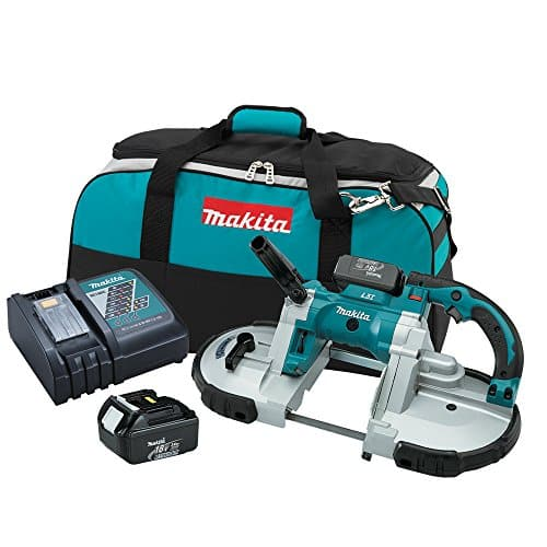 Makita XBP02 18V LXT Lithium-Ion Cordless Portable Band Saw Kit (3.0Ah)