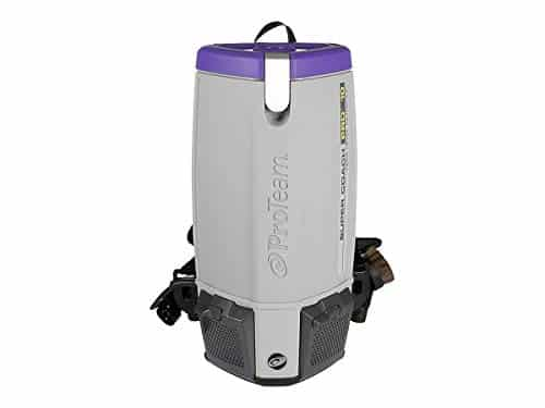 Powerful Proteam Super Coach Pro 10 QT Backpack Vacuum Cleaner
