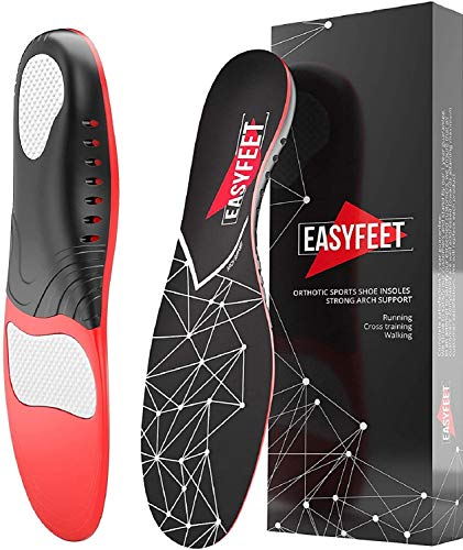 Plantar Fasciitis Arch Support Insoles for Men and Women by EASYFEET
