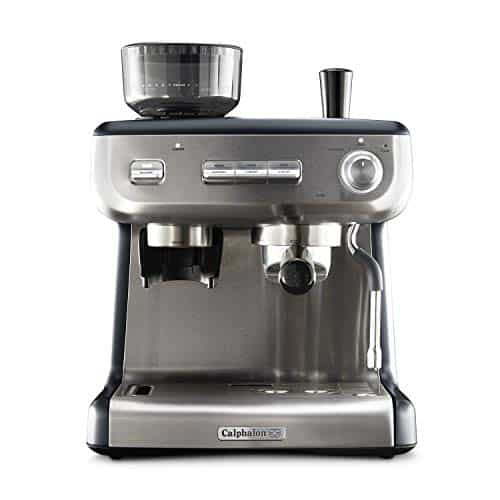 Calphalon Temp iQ Espresso Machine with Grinder and Steam Wand
