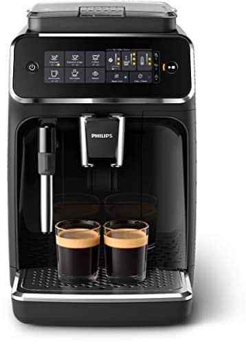 Philips 3200 Series Automatic Espresso Machine w/ Milk Frother, Black