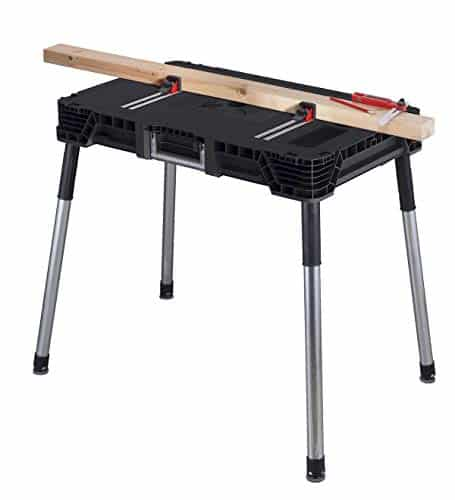 Keter Jobmade Portable Work Bench and Miter Saw Table
