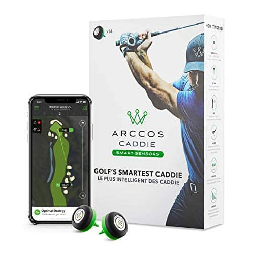 Arccos Caddie Smart Sensors Featuring Golf's First-Ever A.I. Powered GPS